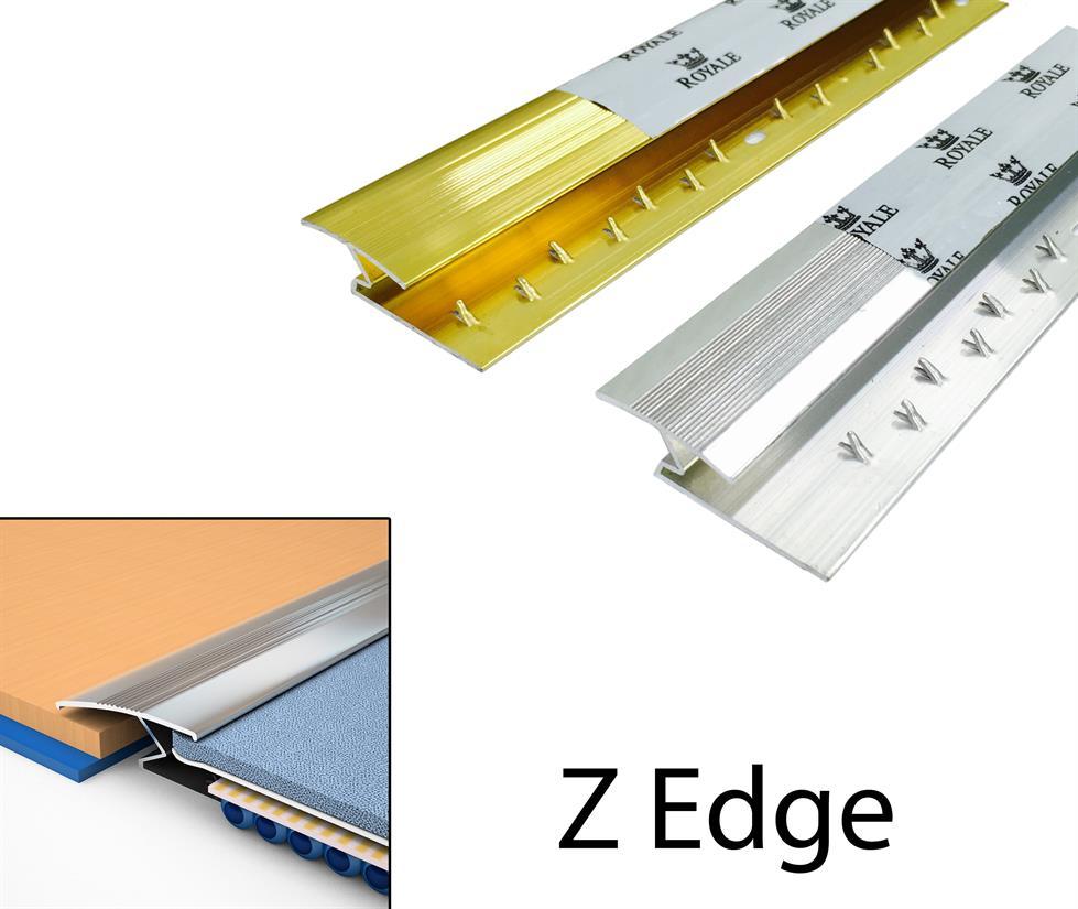 Z Edge Carpet Metal British Flooring