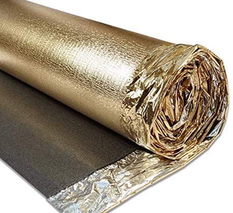 Gold Acoustic Underlay - British Flooring