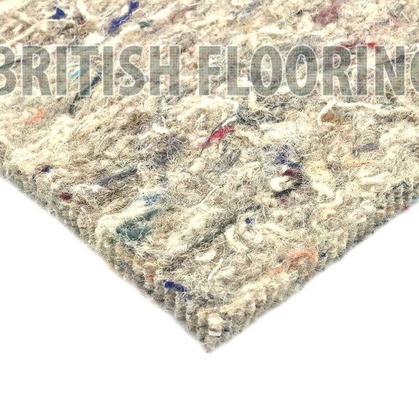 10mm Thick Wool Rich Felt Carpet Underlay British Flooring