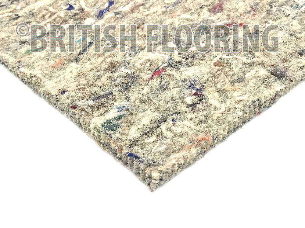 10mm Thick Wool Rich Felt Carpet Underlay British Flooring