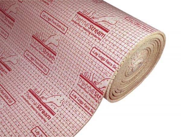 Thermal Stream Underfloor Heating Carpet Underlay - British Flooring