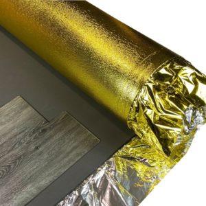 7mm Professional Gold Underlay - British Flooring