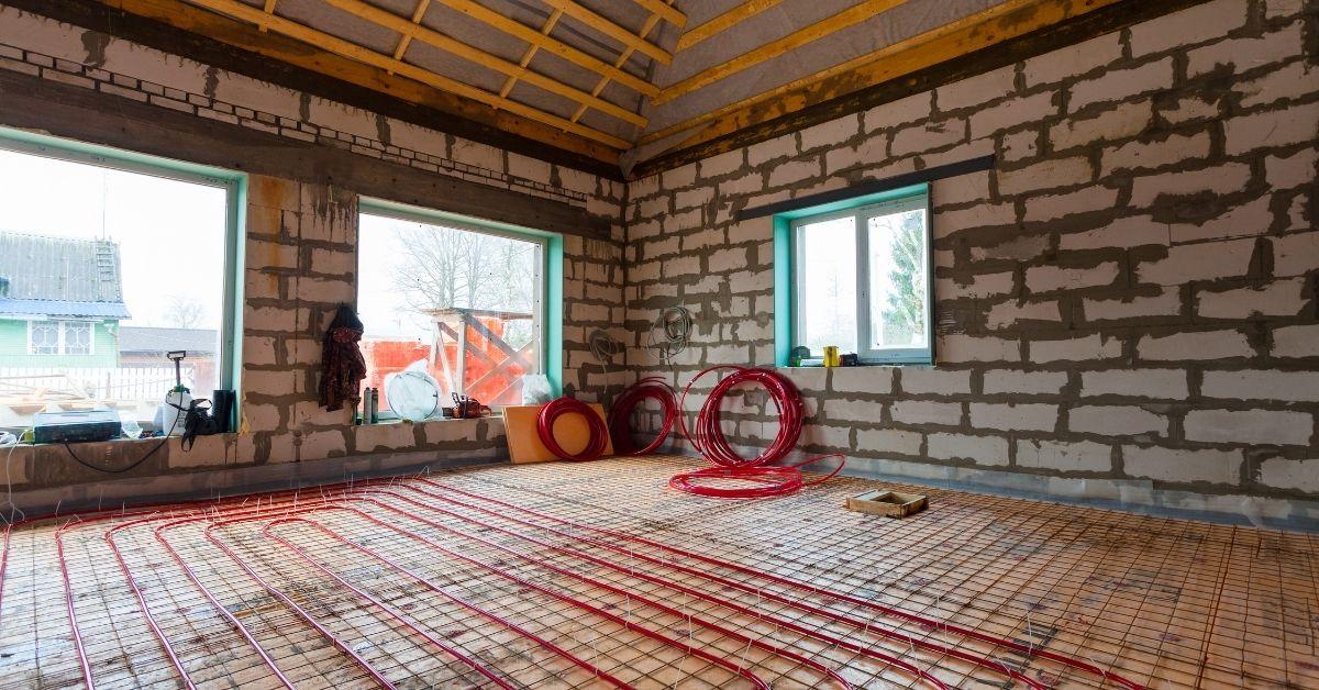 underfloor heating installation British Flooring