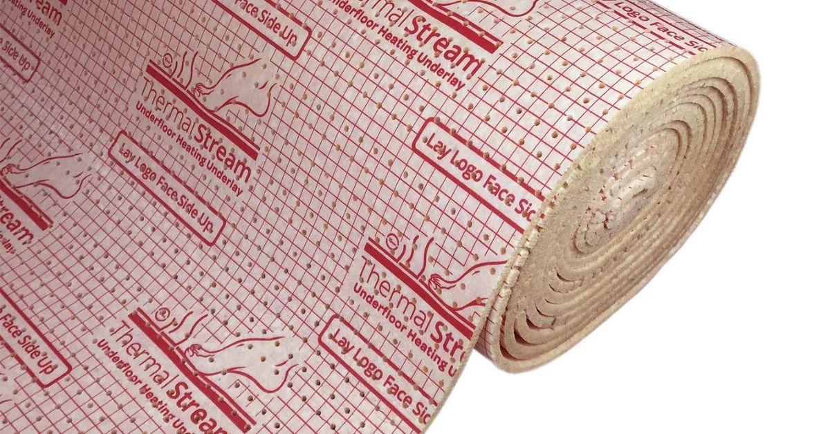 Underfloor Heating Underlayer - British Flooring